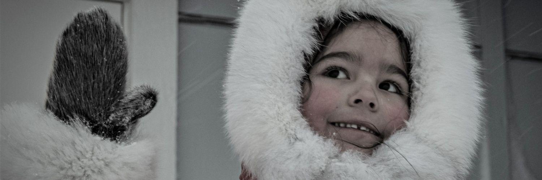 Grenlandia, dziecko